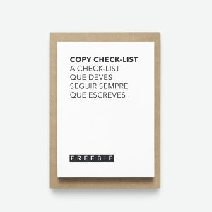 Copywriting check-list